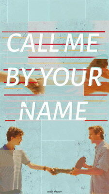 AU6.99 • Buy 011 Call Me By Your Name - Romance 2017 USA Movie 14 X24  Poster