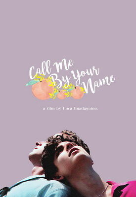 AU6.99 • Buy 008 Call Me By Your Name - Romance 2017 USA Movie 14 X20  Poster