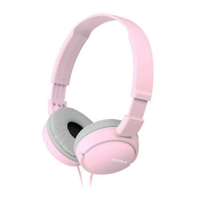Sony Over Ear Sound Monitoring Pink Headphones Wired 3.5mm Jack Earphones • 16.73£