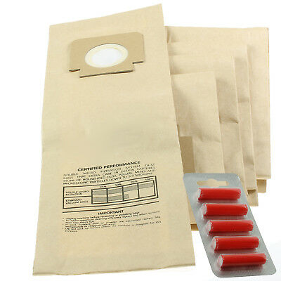 £8.55 • Buy 5 X H4 H18 Bags For Hoover Turbopower 1 / 2 / 3 Junior Turbomaster Turbolite + F