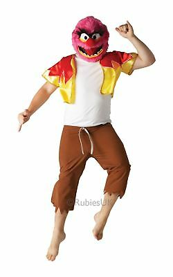 Mens Animal The Muppets Tv Show Movie Film Fancy Dress Costume Outfit & Mask • 24.99£