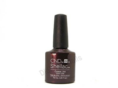 AU17.09 • Buy CND Shellac UV Gel Polish .25 Oz - Cuppa Joe