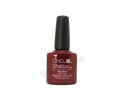 AU17.24 • Buy CND Shellac UV Gel Polish .25 Oz - Bloodline