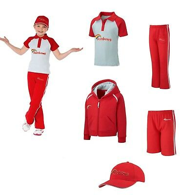 Brand New Official Rainbows Uniform Hoodie T-shirt Shorts Trousers Cap Tabard • 14.99£