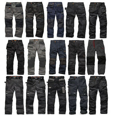Scruffs Work Trousers (Various Styles And Sizes) Worker Plus 3D Trade Pro Etc. • 25.95£