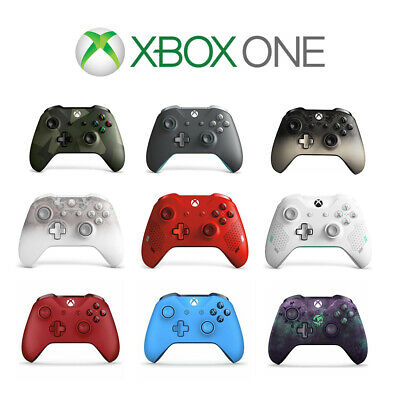 Official Microsoft Xbox One Wireless Controller 3.5mm Jack Refurbished • 37.99£