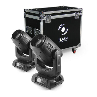 Top Angebot  2xLED Movinghead 15R Moving Head Hybrid 3IN1 BEAM, WASH, SPOT • 1,593.32£
