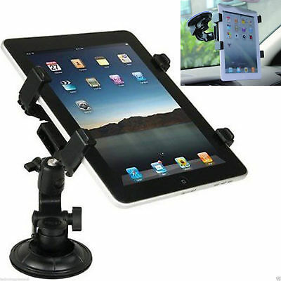 360° Universal Adjustable Car Suction Mount Holder IPad & Galaxy Tablets 7 - 11  • 6.45£