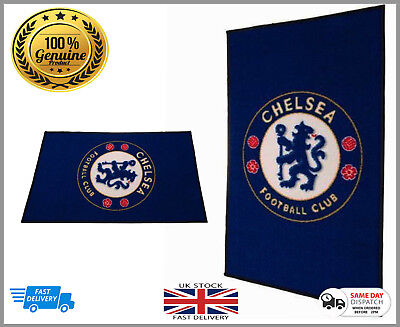 100% Official Licens Chelsea Football Club Large Rug Bedroom - Non Slip Mat Gift • 5.99£
