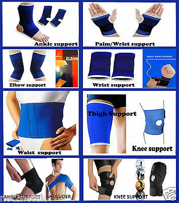 Elastic Knee Palm Wrist Calf Thigh Ankle Elbow Support Brace Gym Sports Bandage  • 2.99£