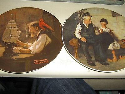 $ CDN90.83 • Buy Lot Of 6 Norman Rockwell Plates Believe In The Mirror, Young Girls Dream ETC