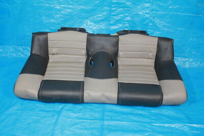 $237.49 • Buy 05-09 Ford Mustang Gt Roush Stage 3 Rear Back Lower Bottom Seat Leather Gray Oem
