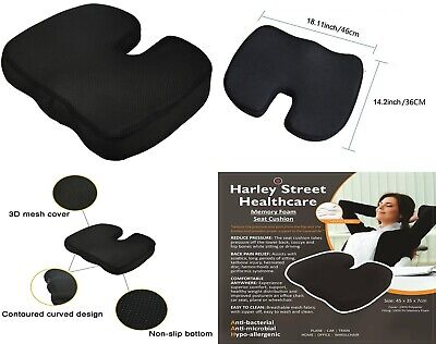 £12.95 • Buy Memory Foam Office Car Seat Chair Supports Cushion Back Pain Relief Healthcare