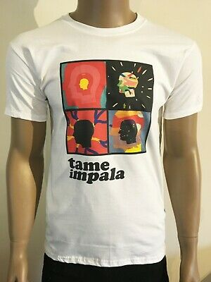 Tame Impala T Shirt Psychedelic Australian Rock Band Acid Lsd High Heads • 14.19£