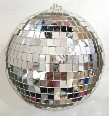 AU16.95 • Buy NEW 1pc 20cm Mirrorball  Light Weight Silver Mirror Ball Disco Ball Club Party D