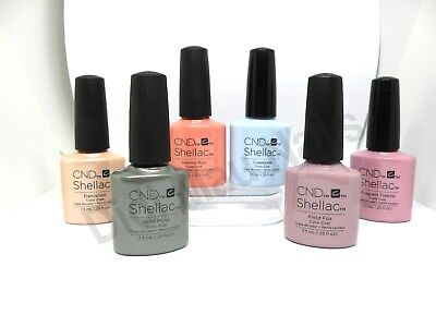 AU17.09 • Buy CND Shellac UV Gel Polish .25 Oz - SPRING 2015 FLORA & FAUNA COLLECTION