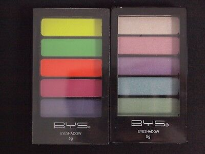 AU8.50 • Buy Bys 18 Enchanted Neons Limited Eyeshadow - 5 Colours Palette Makeup Party Beauty