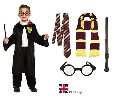 £3.54 • Buy WIZARD FANCY DRESS COSTUME Boys Kids Child Book Day Week Outfit Accessory Lot UK