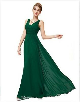 £34.99 • Buy Ever Pretty Womens Double V-Neck Long Evening Party Dress 12UK RRP£79.99 (651)