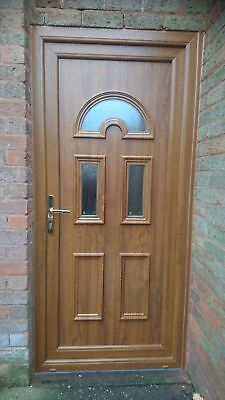 Oak Upvc Front Door Supplied And Fitted Upto 35 Miles. Best On Market £695 • 695£