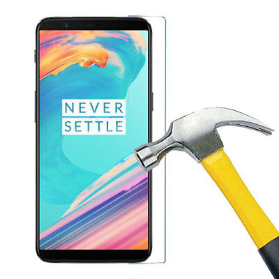 AU7.99 • Buy Tempered Glass Screen Protector Film For OnePlus One Plus 5T 5 T
