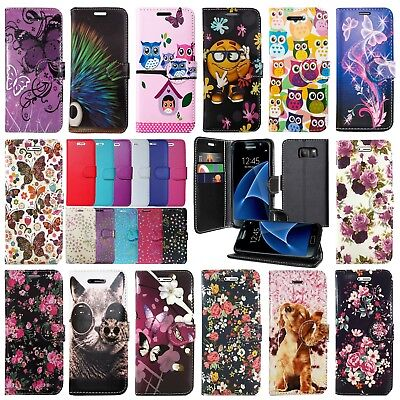 Leather Wallet Book Flip Protect Phone Case For Samsung Galaxy S8 S9 & S9 Plus • 3.96£