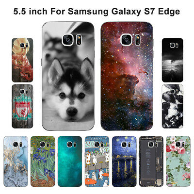$ CDN3.93 • Buy Soft TPU Silicone Case For Samsung Galaxy S7 Edge Phone Back Cover Skins View