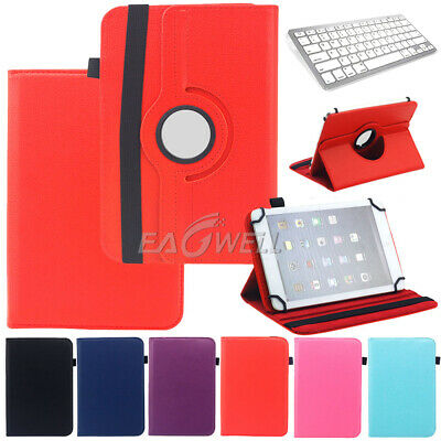 AU23.99 • Buy Universal For 9  9.7  10.1  Inch Tablet 360 Rotate PU Leather Folio Cover Case