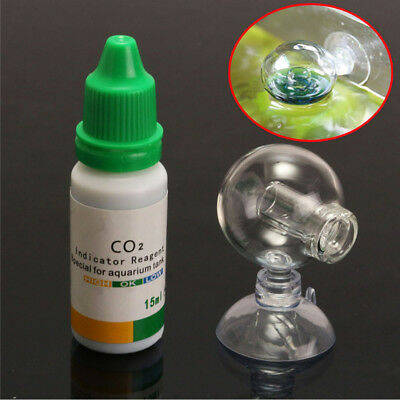 $2.02 • Buy Aquarium Carbon Dioxide CO2 Monitor Glass Drop Ball Checker Tester PH Indicator