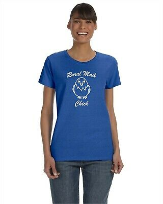 $19.95 • Buy  Rural Mail Chick  T-shirt Great For Postal Worker Rural Carrier Rca Or Arc
