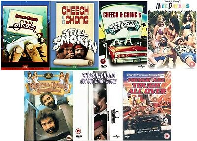 CHEECH AND & CHONG 7 MOVIE FILM DVD COLLECTION DVD Original UK Release R2 • 82.99£
