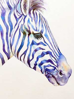 £3.99 • Buy Zebra Print Fashion Poster Home Interior Wall Picture Decoration A4