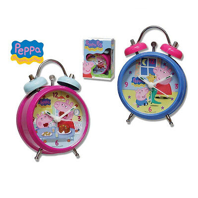 £17.09 • Buy PEPPA PIG Alarm Clock With Double Bell 2 Colors