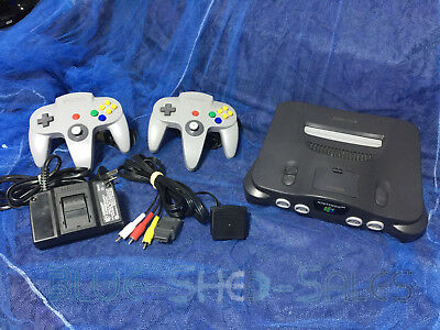 AU279.95 • Buy Nintendo N64 Full Console, 2 Controllers, Power Supply And Leads
