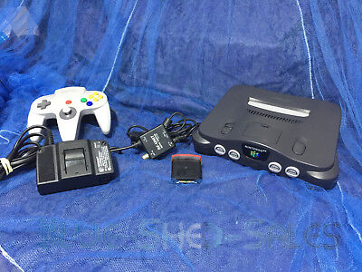 AU249.95 • Buy Nintendo N64 Full Console, 1 Controllers, Power Supply And RF Leads, Etc.