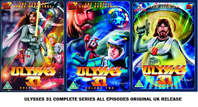 £88.49 • Buy ULYSSES 31 COMPLETE SERIES ALL 26 EPISODES COLLECTION DVD UK Release New R2