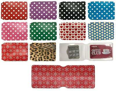 £3.03 • Buy Oyster Card Holder Wallets For Train Tickets + Bus Pass Membership Cards