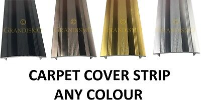 Carpet Cover Strip Doorbars - Any Colour Trim - Quality Metal Threshold Profile • 5.99£