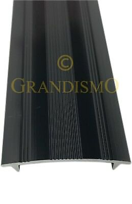 Carpet To Carpet - Cover Strip Trim - Black Finish - Threshold / Metal Door Bar • 5.95£