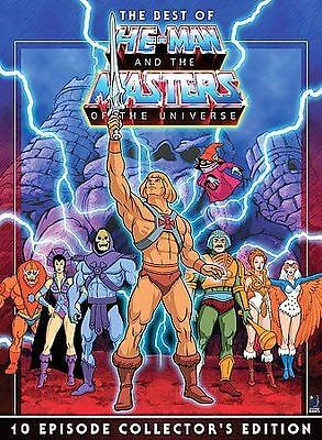 $11.99 • Buy The Best Of He-Man And The Masters Of The Universe(DVD Movies Free Shipping)