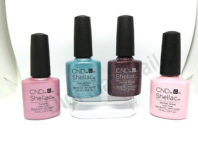 AU17.09 • Buy CND Shellac UV Gel Polish 0.25oz- Aurora Collection Holiday 2015