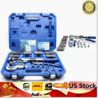 Universal Hydraulic Flaring Tool Set Steel Pipe Fuel WK-400 + Cutter Durable • 317.29$