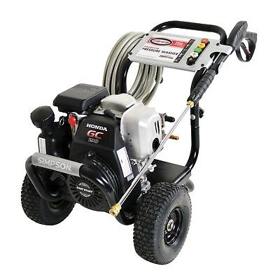 $456.74 • Buy Simpson MSH3125-S Simpson MegaShot 3200 PSI (Gas-Cold Water) Pressure Washer W/