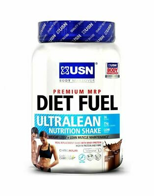 £21.59 • Buy USN Diet Fuel Ultralean Whey Protein Meal Replacement Weight Loss Shake - 1kg