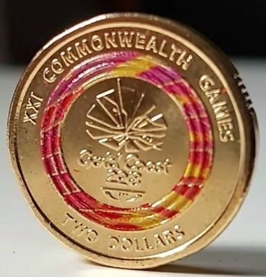 AU55.96 • Buy ⚡️Rare Red Colour Coin - Royal Australian Mint Special Edition UNC 2018 2 Dollar