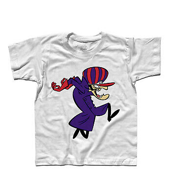 T-Shirt Child Dick Dastardly Series Wacky Races, Muttley, Penelope Pit Stop • 15.77£