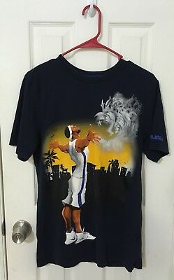 aebfb1f1323 Nike Lebron James Tee Shirt Mens Dri Fit Small T Painting Obsidian Blue •  14.98