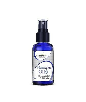Magnesium Oil Spray 50ml For Aches Pains Muscle Rub Best Use Transdermally • 6.39£