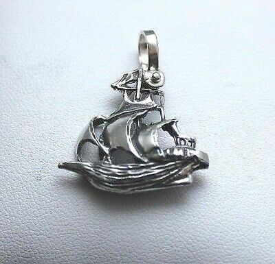 ATOCHA Coin Silver Ship 925 Sterling Silver Sunken Treasure Shipwreck Jewelry • 39$