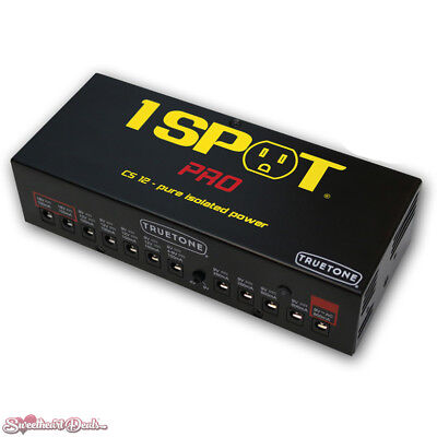 $ CDN241.27 • Buy Truetone 1 SPOT PRO Guitar Pedal Power Supply CS12 With 12 Isolated Outputs